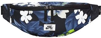 Nike SB Heritage All Over Print Hip Pack (Black/Black/Black) Day Pack Bags