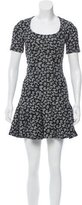Carven Printed Mini Dress w/ Tags