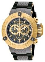 Invicta Men's 0930 Subaqua Quartz Chronograph Grey Dial Strap Watch - Grey