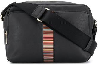 Paul Smith Striped Leather Shoulder Bag