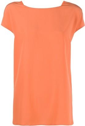 Aspesi crew neck silk T-shirt
