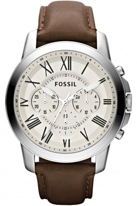 Fossil Mens Grant Chronograph Watch FS4735