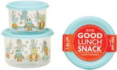 SugarBooger by O.R.E. Good Lunch Snack Container Set - Retro Robot