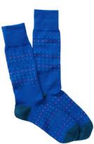 Paul Smith Dotted Stripe Crew Socks
