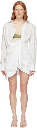 Jacquemus White La Robe Bahia Dress