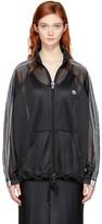 Adidas Originals By Alexander Wang Black Aw Mesh Track Jacket