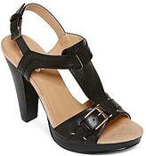 JCPenney 9 & Co.® Billions T-Strap Sandals