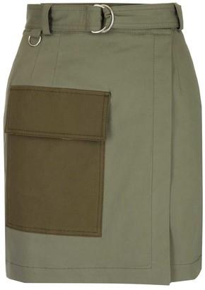 MSGM Cargo Mini Skirt