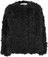 Karl Donoghue Shearling Coat - Black