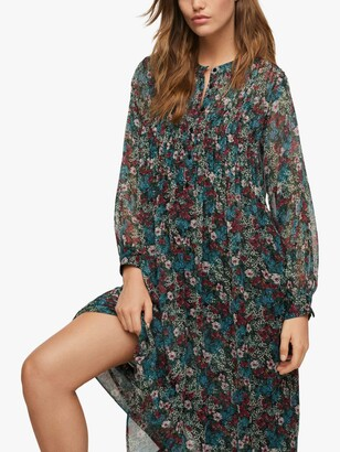 MANGO Aire Floral Dress, Multi