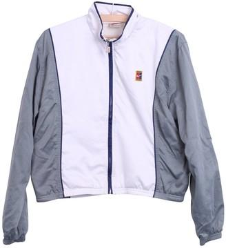 Nike Grey Synthetic Jackets