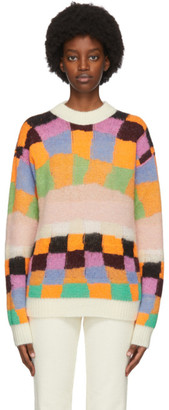 ERL Reversible Multicolor Alpaca and Mohair Sweater