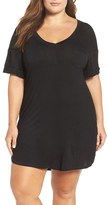 Honeydew Intimates Plus Size Women's Ribbed Sleep Shirt
