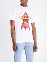 Billionaire Boys Club Spaceship-print cotton T-shirt