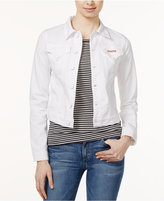 Hudson Signature White Wash Denim Jacket