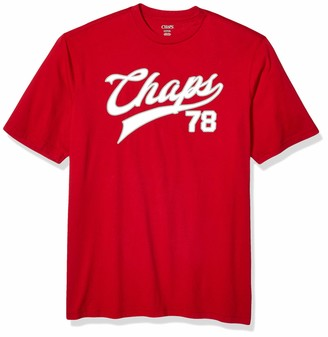 Chaps Men's Big and Tall Short Sleeve Cotton Graphic T-Shirt