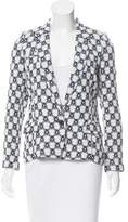 Isabel Marant Patterned Button-Up Blazer