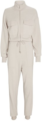 Jonathan Simkhai Iman Knit Zip-Up Jumpsuit