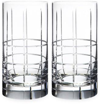 Orrefors Street 2-Piece Glass Tumbler Set