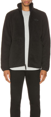 The North Face Dunraven Sherpa Full Zip in TNF Black | FWRD