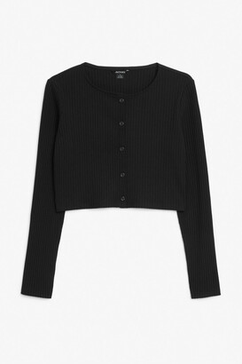 Monki Cropped cardigan