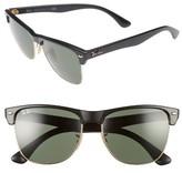 Ray-Ban Men's 'Clubmaster' 57Mm Sunglasses - Matte Black