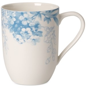 Villeroy & Boch Dinnerware Floreana Blue Collection Porcelain Mug