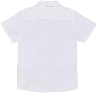 Very Girls 3 Pack Revere Short Sleeve School Blouse - White