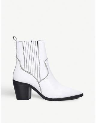 Kurt Geiger Tiami leather Western boots