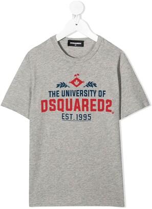 DSQUARED2 The University print T-shirt