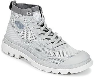 Palladium PAMPA HI LITE K women's Mid Boots in Grey