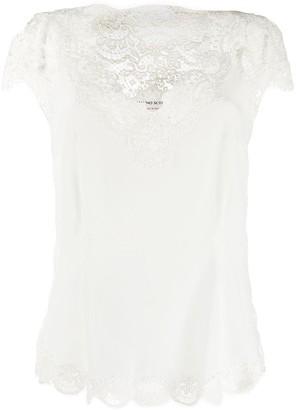 Ermanno Scervino v-neck silk blouse