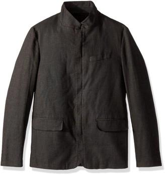 Kenneth Cole Reaction Men's Slim Blazer with Zip Front