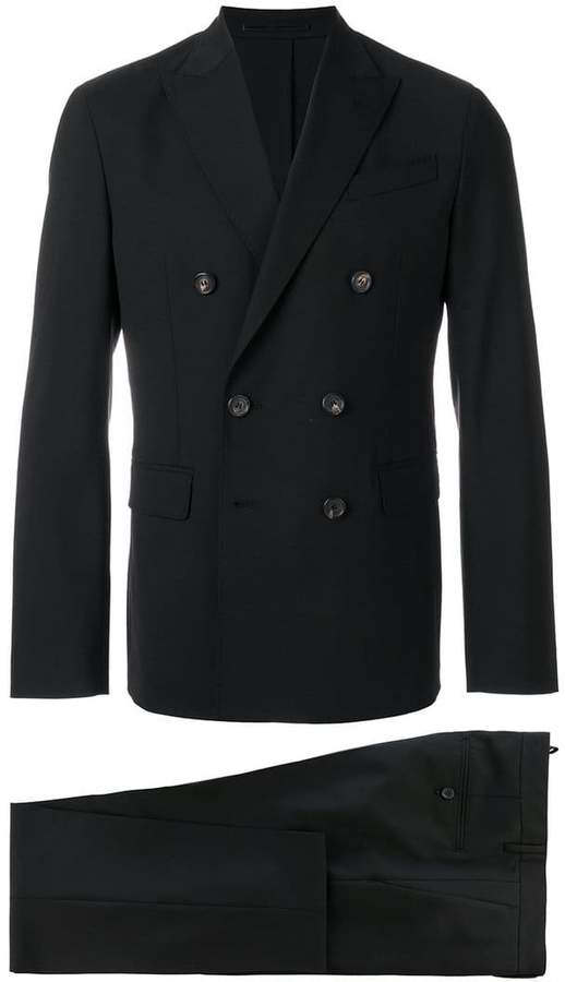 DSQUARED2 Napoli double-breasted suit