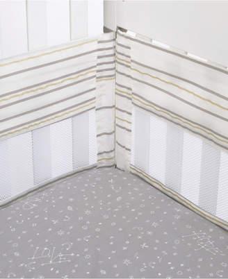 ED Ellen Degeneres Starry Night Secure-Me Crib Liner Bedding
