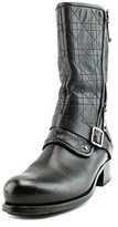 Christian Dior Guetre Biker Boot Women Leather Black Motorcycle Boot.