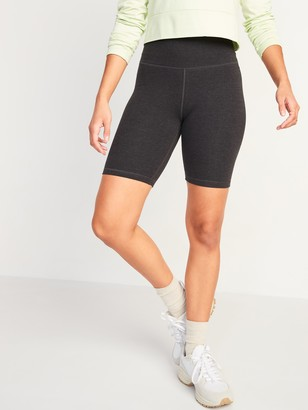Old Navy Extra High-Waisted Balance Biker Shorts for Women -- 8-inch inseam