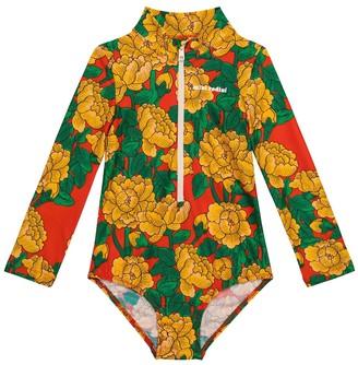 Mini Rodini Peonies swimsuit