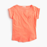 J.Crew Girls' garment-dyed T-shirt