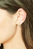 Forever 21 FOREVER 21+ Pineapple Stud Earrings