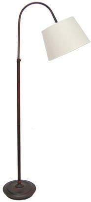 Fangio Lighting Adjustable Metal Arch Floor Lamp