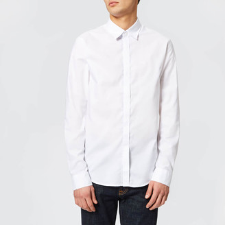Armani Exchange Men's Slim Oxford Long Sleeve Shirt