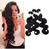 "Echo Beauty 6A Grade Natural Color 3pcs 14""16""18"" Brazilian Virgin Remy Human Hair Body Wave Extension"