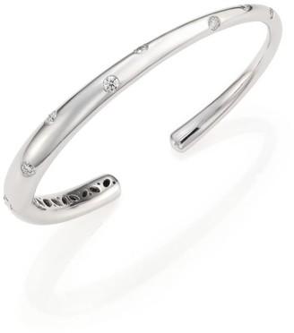 Kwiat Cobblestone Diamond & 18K White Gold Cuff Bracelet