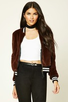 Forever 21 FOREVER 21+ Contemporary Faux Fur Jacket