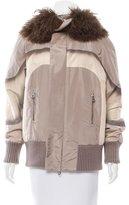 Marc Jacobs Fur-Accented Short Coat