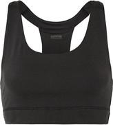 Yummie by Heather Thomson Janet mesh-trimmed stretch-jersey sports bra