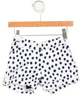 Oscar de la Renta Girls' Polka Dot Mini Shorts w/ Tags