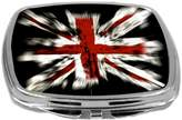 Rikki Knight Flag Design Compact Mirror