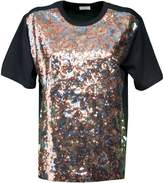 Dries Van Noten Sequinned Cotton T-shirt